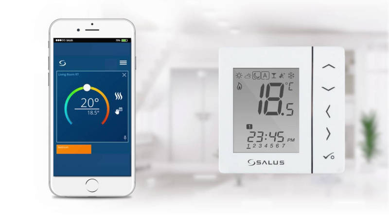 Salus Controls Smart Home belaidė internetinė serija