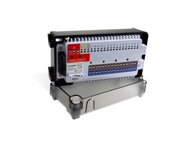 KL04NSB 4-zonų centralė / išplėtimo modulis (be katilo ir siurblio valdymo)