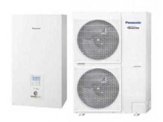 Panasonic T-CAP serijos oras - vanduo šilumos siurbliai